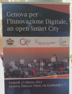 Genova per l'Innovazione Digitale, an open smart city