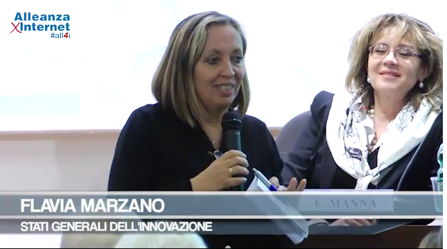 Intervento video Flavia Marzano Alleanza per internet