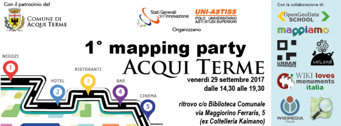 mapping party Acqui Terme